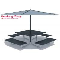 Buy cheap Beautiful Black Cast Iron Garden Bench Multi Seat For  Playground Public Area from wholesalers