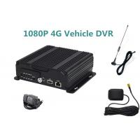 Buy cheap SD Card 1080P 4 Camera Car DVR Monitoring System Support Real Time Video product