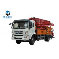 Buy cheap Convenient Truck Mounted Boom Pump / Concrete Mixer Pump With Hydraulic Pump from wholesalers