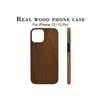 Buy cheap Super Light Shockproof Real Wood Phone Case For iPhone 12 from wholesalers