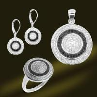 Buy cheap Micro Setting Silver CZ Jewelry Set (RSA5365) from wholesalers
