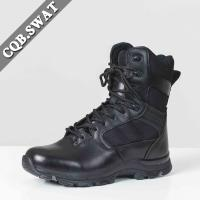 Buy cheap Wholesale Round Toe  Original  Men's Swat Boot Shoes Genuine Leather Cheap Riding Boot from wholesalers