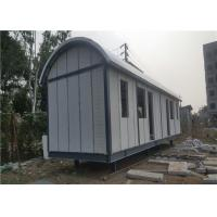 Buy cheap Prefab Light Steel Frame Mobile Home With Arched EPS Sandwich Panel Roof from wholesalers