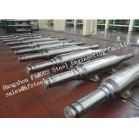 Buy cheap High Hardness And Durability Forged Alloyed Steel Work Roller For Cold Rolling Factory from wholesalers