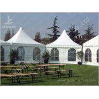 Durable High Peak Outdoor Shade Tent Gazebo Shelter Environmentally Friendly