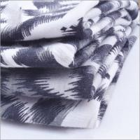 Buy cheap Rusha Textile   Knit Tiger Skin Printed Spandex Polyester Spun Single Jersey All Types Of Fabrics from wholesalers