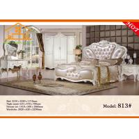 Buy cheap pulaski retro white wicker art deco bamboo curio discount russian antique bedroom furniture bed packages from wholesalers