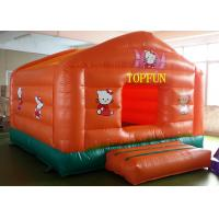 Buy cheap Double Sewing PVC Tarpaulin Inflatable Jumping Castle Hello Kitty Bounce House from wholesalers