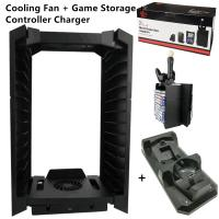 Buy cheap Multifunction Disc Storage Support Gaming Cooling Fan Stand bracket space saving for PS4 from wholesalers