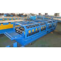 Colour sheet Big Round Ridge Capping Cold Roll Forming Machine Panasonic PLC Control High Speed