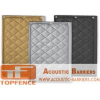 Buy cheap Customized Temporary Acoustic Barriers in any Size any WARN color to keep you construction safe and Quiet from wholesalers