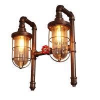 Buy cheap Retro Fancy Filament Bulb Wall Lights  E27 Decorative Long Arm Low Voltage Living Hall Wall Light from wholesalers