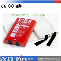 Buy cheap White Fire blanket price from wholesalers