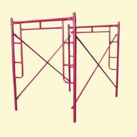 Buy cheap Q235 Q345  H Frame Scaffolding System / walk through scaffolding from wholesalers