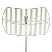 Buy cheap 2.4 GHz 24 dBi Die Cast Reflector  Parabolic Grid WiFi Antenna from wholesalers