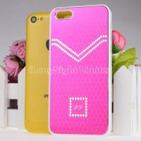 Buy cheap Pattern Reflect Light Hard Plastic Case For iPhone 5C with Electroplate Honeycomb desgin product