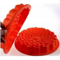 Buy cheap round shape silicone cake pans ,silicone baking pans , flower shape silicone from wholesalers
