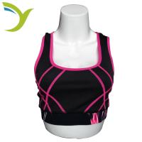Buy cheap Custom dri fit sports sexy girls wearing sublimated yoga sport bra for gym fitness from wholesalers