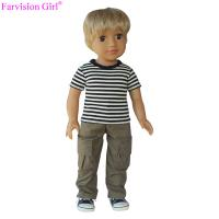 Buy cheap New arrival 18 inch boy vinyl dolls baby soft toy with sports cloth doll manufacturer china from wholesalers