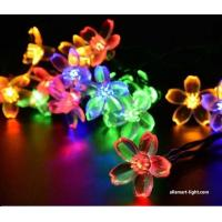 Buy cheap 50LED Solar fairy lights ASG-002 solar Chrismas lights solar string lights flower blossom decorative lights from Wholesalers