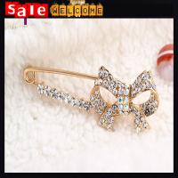Buy cheap Rhinestone Brooches Crystal Bow Bowknot Broach Pin,Wedding Bridal rhinestone Bow Brooch from wholesalers