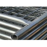Buy cheap Hot dipped Galvanized Construction Fencing Panels 2.1mx3.6m Super Temp Fence Paneles -L from wholesalers