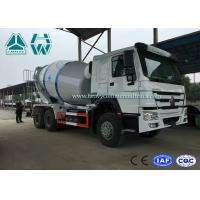 Buy cheap High Efficiency 12cbm Large Cement Mixer truck 320HP Engine , Left Hand Driving from wholesalers
