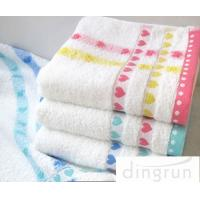 Buy cheap Yarn Dyed Pattern Face Wash Towel Fashionable Design Multi Functional from wholesalers
