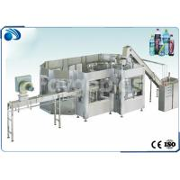 Buy cheap 3 in 1 Automatic Bottle Filling Machine For Carbonated Drink / Juice Soft Drink 200-2000ml from wholesalers