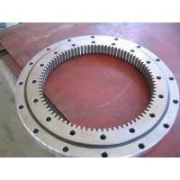 Buy cheap Slewing Ring for Crane and Hard Bearing and Mechanical Bearing, Material 50Mn, 42CrMo slewing bearing from wholesalers