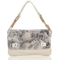 Buy cheap Vintage Floral Womens Leather Handbag Ladies Tote Bags For Party , Animal Print from wholesalers