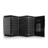 Buy cheap Waterproof 20W High Efficient Dual-Port Foldable solar energy power bank for Ipod / Laptop from wholesalers