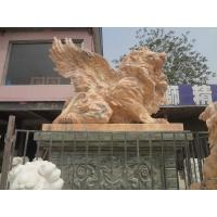 Buy cheap Antique lion with wings garden statues sculpture from wholesalers