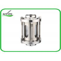 Buy cheap 304 Stainless Steel Sanitary Sight Glass With Protective Net For Pharmaceutical Industries from wholesalers