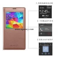 Buy cheap Anqueue - Folio leather case Galaxy s5 with window from wholesalers
