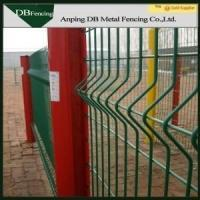 Buy cheap High Strength Curvy Welded Wire Fence , Plastic Coated Wire Mesh Fencing from wholesalers