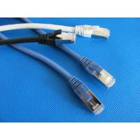Buy cheap U-FTP CAT6A Cable Ethernet Lan Network Patch Cord RJ45 Grey , Blue , Red from wholesalers