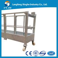 Buy cheap ZLP800 aluminium alloy / Hot galvanized construction platform / suspended chair / access system from wholesalers