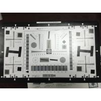 Buy cheap 1X Enhanced ISO 12233 8 Millon Pixel Camera Resolution Test Chart  4000 lines with Photographic Pape 20 cm x 35.6 cm product