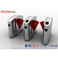 Quality Flap Barrier Gate TCP / IP Flap Turnstile Security Gate Access Control for sale