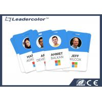 Buy cheap HF 13.56 MHz Smart ID Cards Printable Plastic RFID Employee Badges from wholesalers