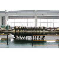 Buy cheap GB/T3077-1999 30Cr1Mo1V, 25Cr2Ni4MoV Forged Steel Shaft Steam Turbine Rotor from wholesalers