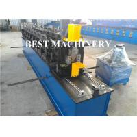 Buy cheap Steel Wall Angle Bar Cold Roll Forming Machine L Shape Bead Perforated from wholesalers