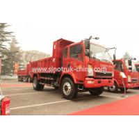 Buy cheap 12 Tons HOWO 4×2 Light Duty Dump Truck With 105HP EuroIII Front Lifting 6 Tires from wholesalers