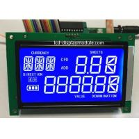 Buy cheap STN 7 Segment LCD Panel Screen White LED Chip PCB Board ISO14001 Approved from wholesalers