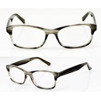 Buy cheap Rectangle Handmade Acetate Flexible Eyeglasses Frames For Men, Ladies product