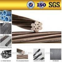 Buy cheap STANDARD ASTM 416 /A416M 7 wire Low relaxation pc steel wire strand from wholesalers
