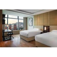 Buy cheap Star Resort / Commercial Modern Hotel Wood Bedroom Furniture Plywood With Veneer Material from wholesalers