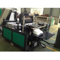 Buy cheap Medical Non Woven Fabric Bag Manufacturing Machine / Non Woven Loop Handle Bag Making Machine from wholesalers