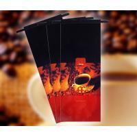 Polypropylene Aluminum Foil Coffee Packaging Bags with Tin Bar Custom Laminated 9 Colors